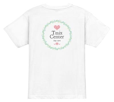 ナチュラルで親しみやすい介護ユニフォームデザインTシャツ