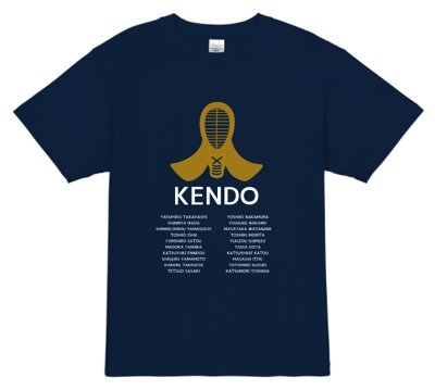 部活・クラブ・道場のユニフォームに最適!なTシャツ
