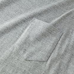 オーバーサイズTシャツの生地画像