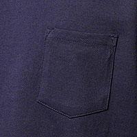 ポケット付きスーパーヘビーウェイトTシャツの生地画像
