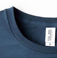 スリムフィットTシャツの生地画像
