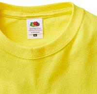 フルーツベーシックTシャツの生地画像