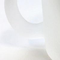 磨りガラスマグカップの素材画像