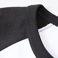 ラグランTシャツ(七分袖)の生地画像