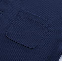 ドライポロシャツ(ポケット付き)の生地画像