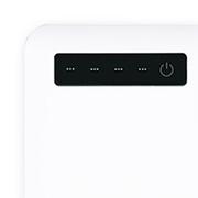 インジケータ(充電残量表示)有モバイルバッテリー4000mAhの素材画像