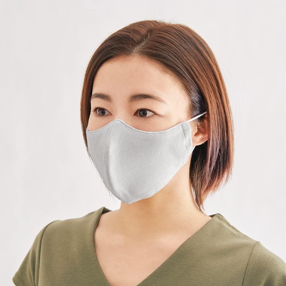 dinos UV冷感マスク