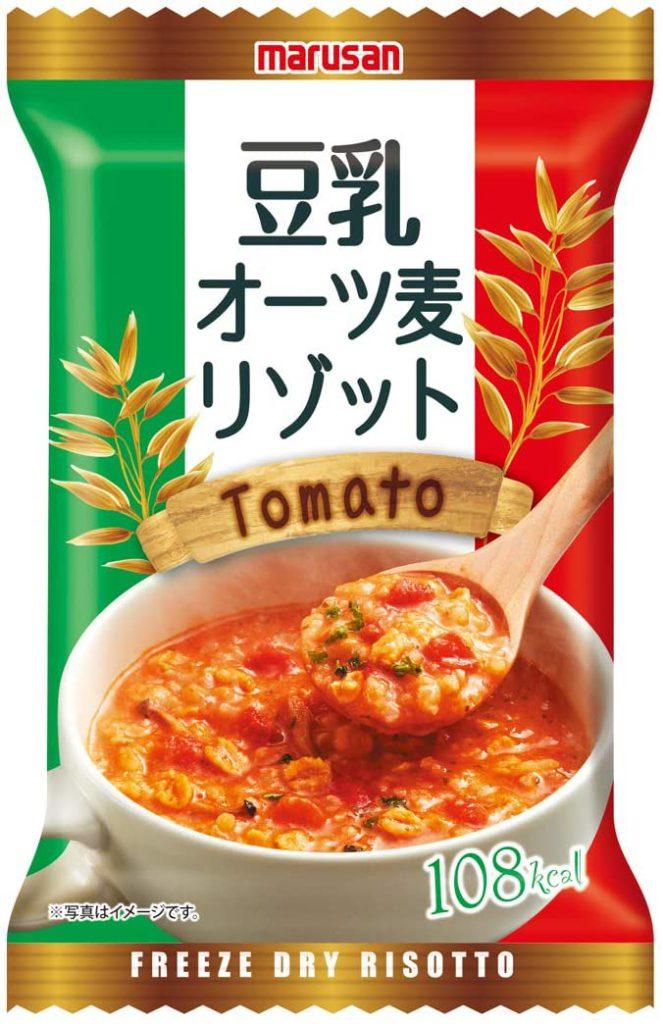 マルサン 豆乳オーツ麦リゾット トマト