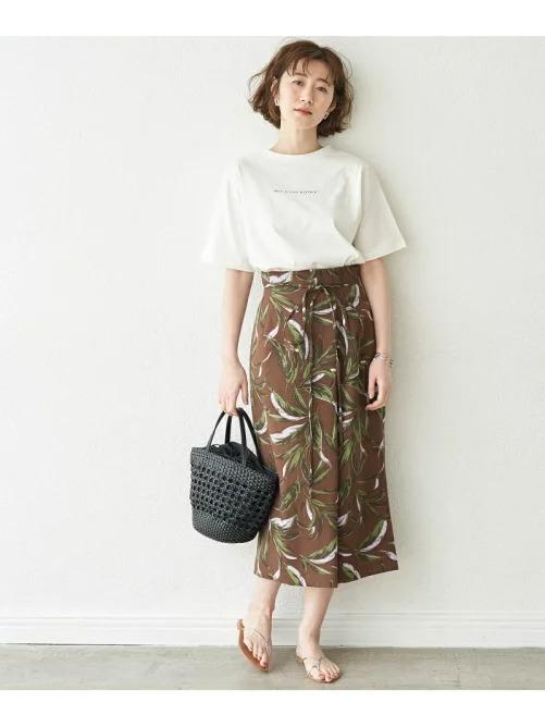 柄スカート