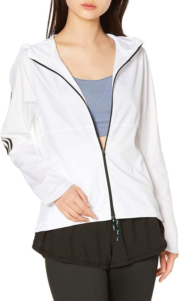 adidas(アディダス)フード付きウインドジャケット