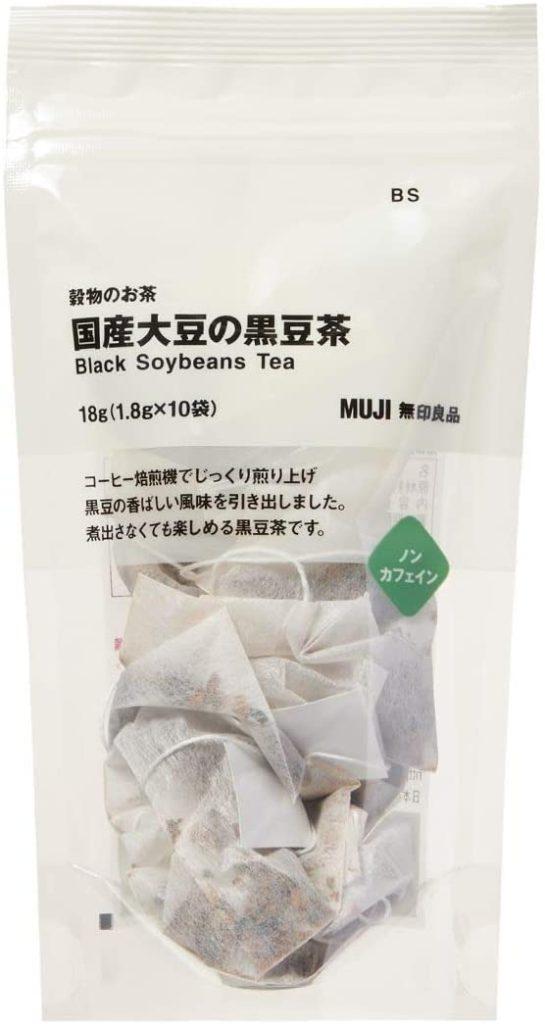 無印良品(むじるしりょうひん) 穀物のお茶 国産大豆の黒豆茶