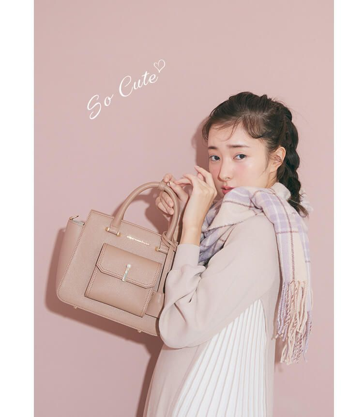 宮本茉由 JILL by お出かけにもお仕事にも幅広く使えるトートバッグ