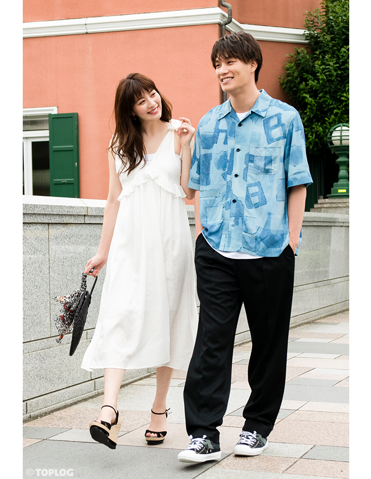 鈴木伸之さんと岡本杏理さん