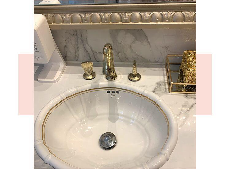 洗面台までオシャレ