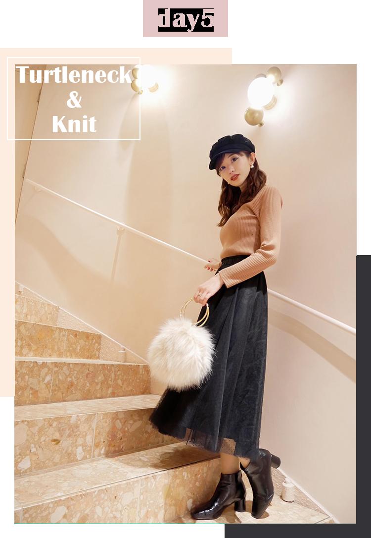 Turtleneck & Knit