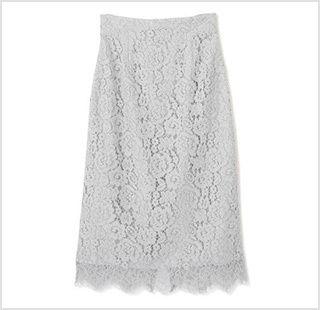 ナローレーススカート(WEBサイト限定カラー)