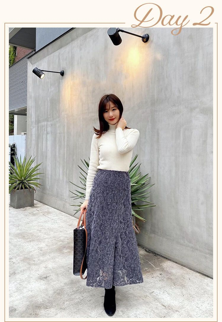 金城ゆき ドラマティックなマーメイドスカート