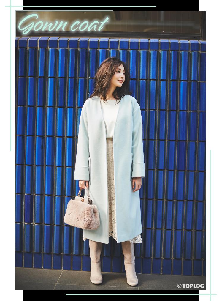 Gown coat 大石絵理