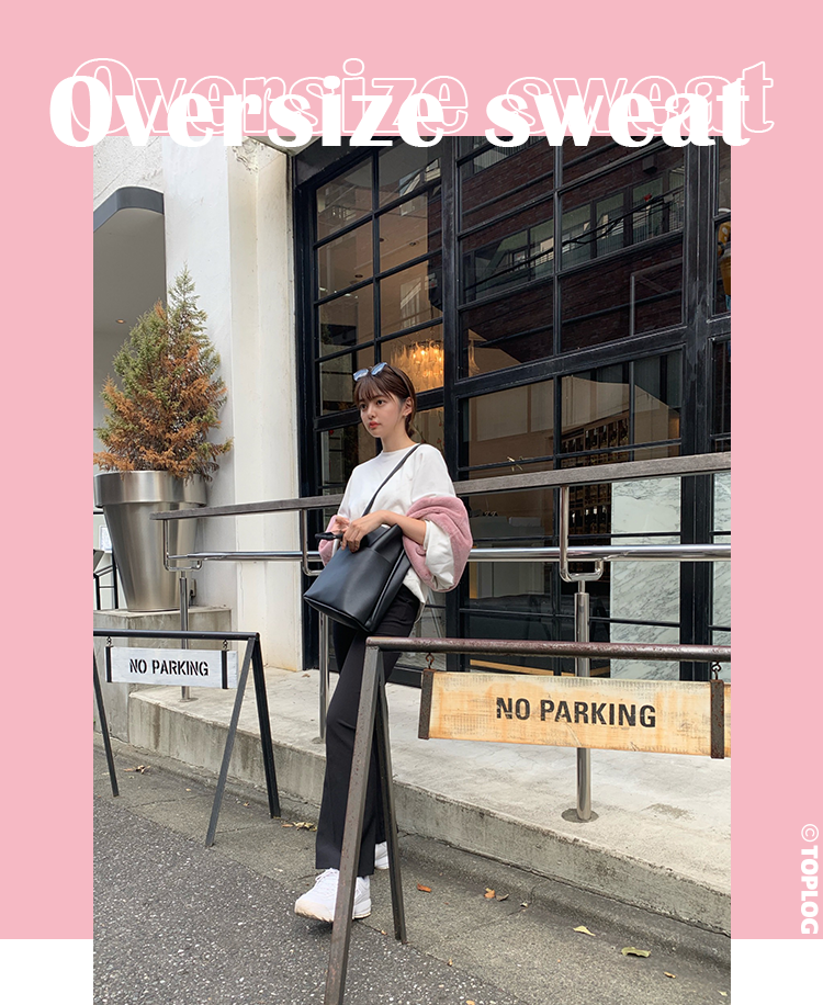 Oversize sweat