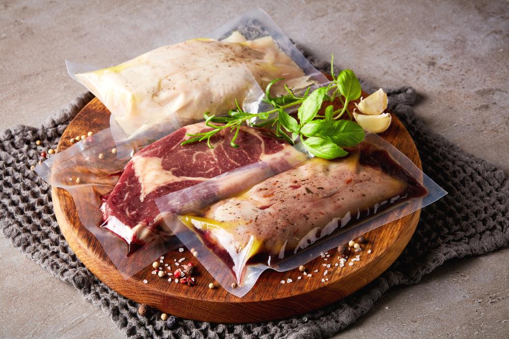 下味冷凍した肉