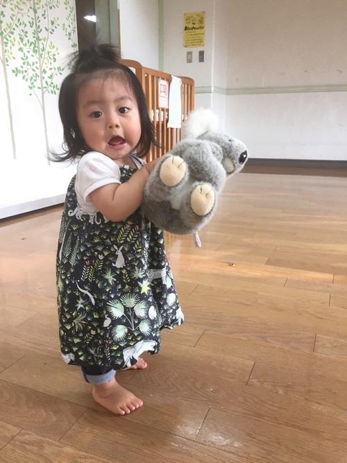 ワンピースを使った児童館の服装