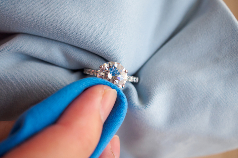 指輪の掃除