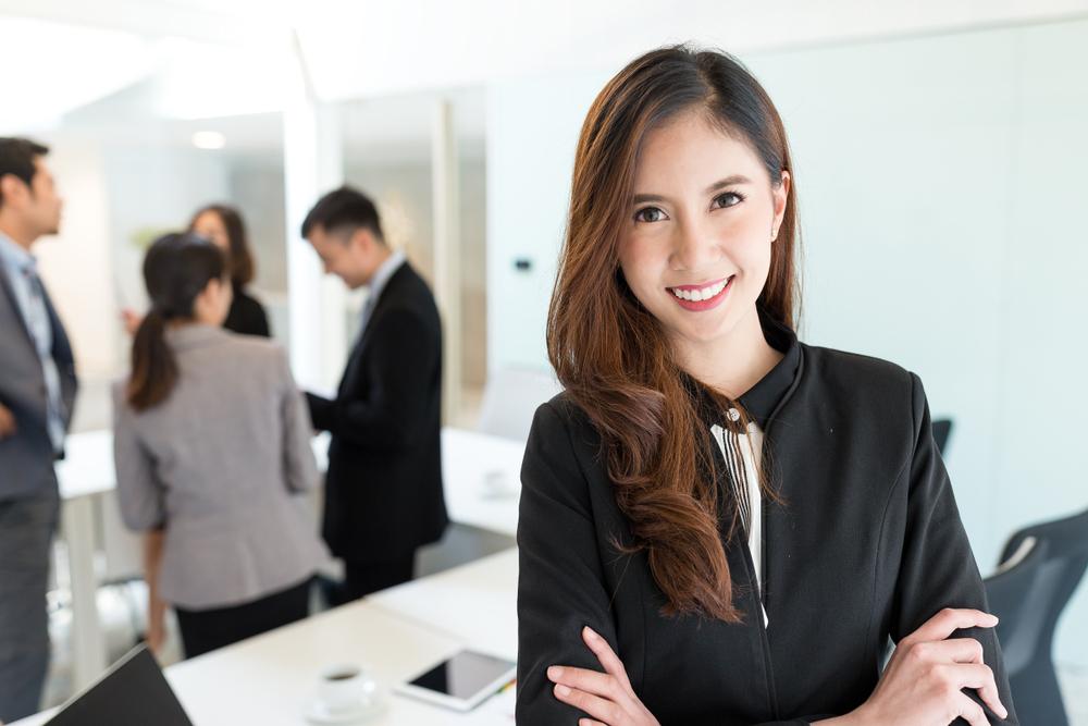 憧れの女性の上司