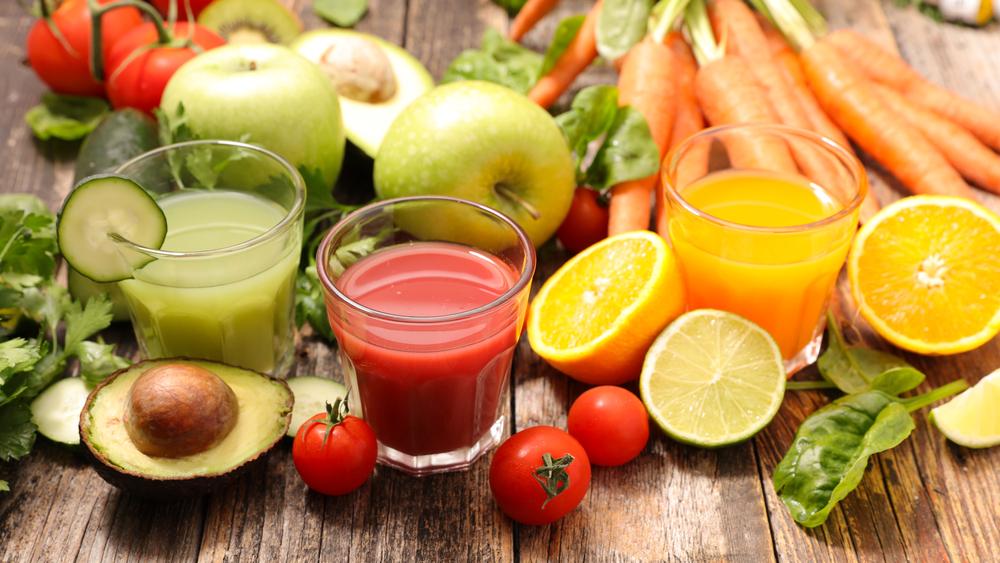 トマトジュースやフルーツジュース