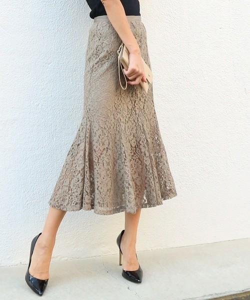 AMBIENTのマーメイドスカート