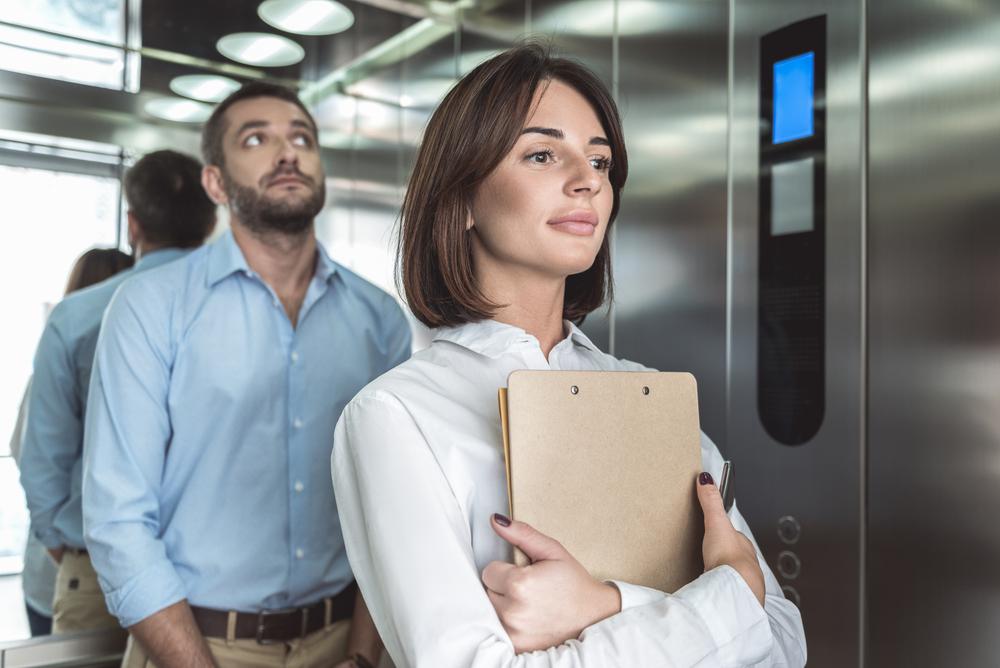 エレベーターのマナー