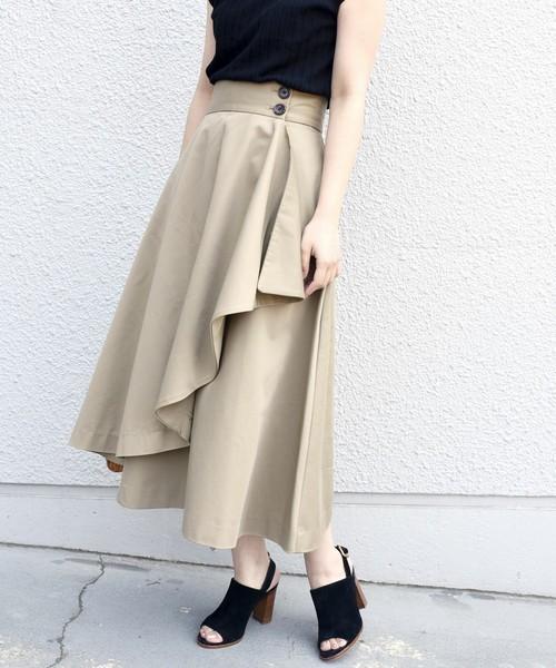 ドレープスカート
