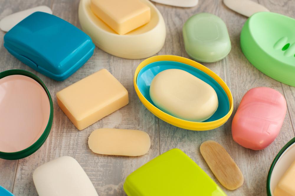 色々なタイプの石鹸