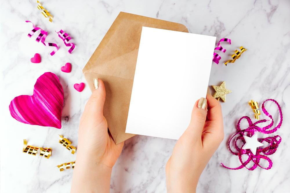 彼氏へのバレンタインカード