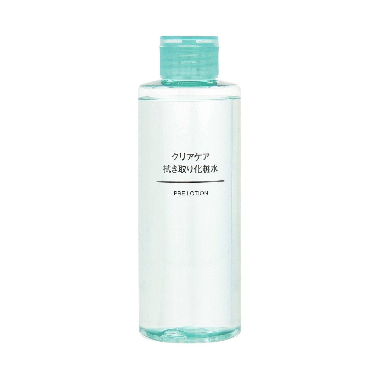 無印良品の「クリアケア拭き取り化粧水」