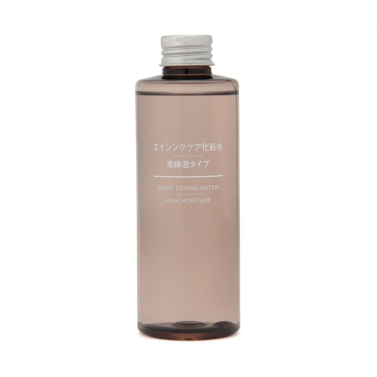 無印良品の「エイジングケア化粧水・高保湿タイプ」