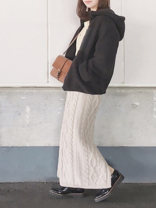 ニットスカート
