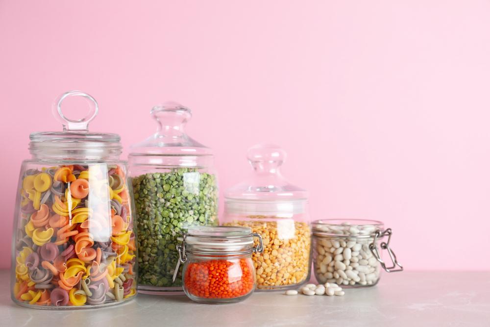 乾麺のパスタの保存