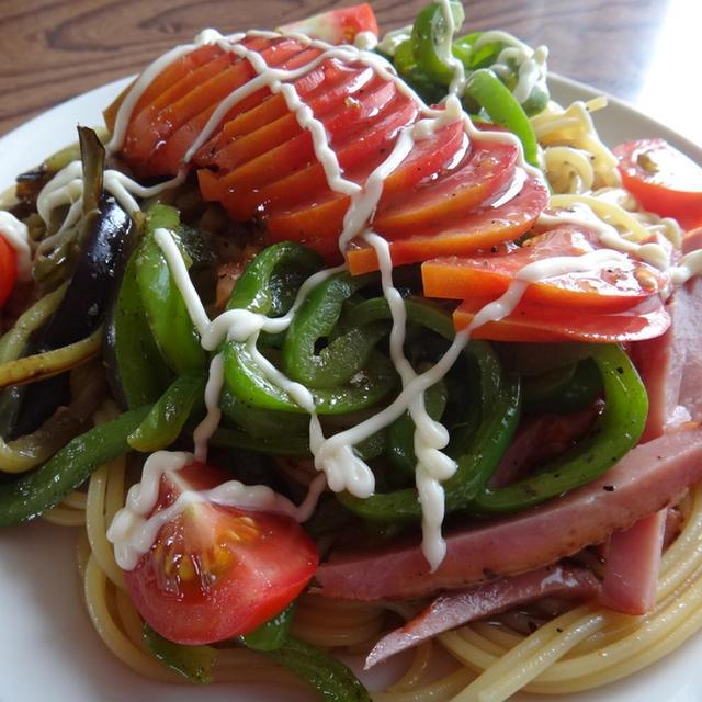 夏野菜パスタのレシピ