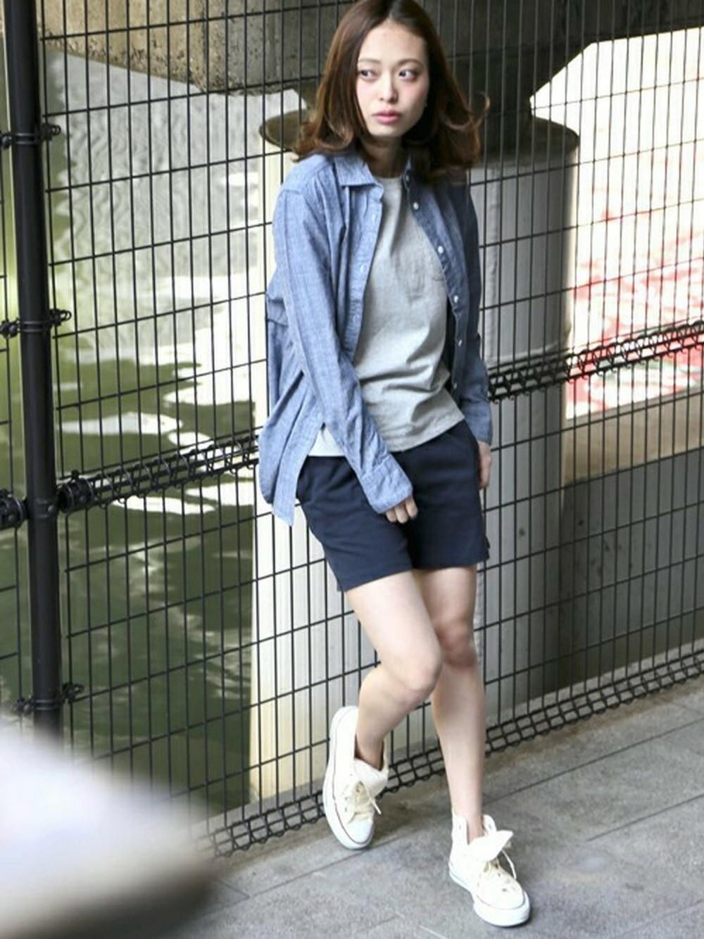 紺ハーフパンツ