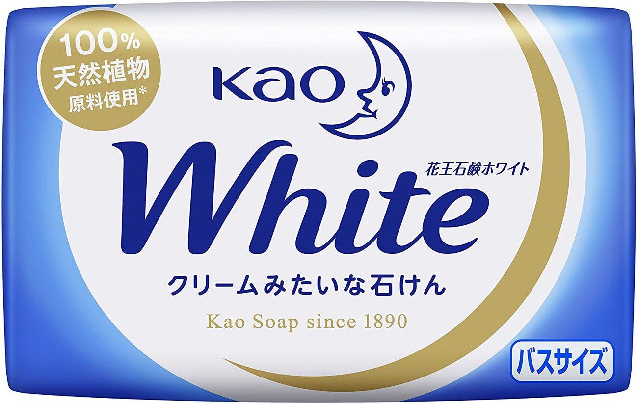 花王石鹸ホワイト クリームみたいな石けん