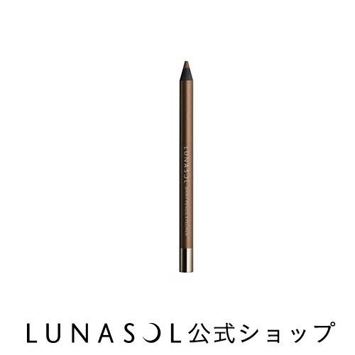 LUNASOL ルナソル シャイニーペンシルアイライナー 02 Copper Brown カッパー ブラウン