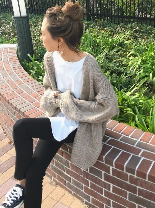 ニットを使った横浜の服装