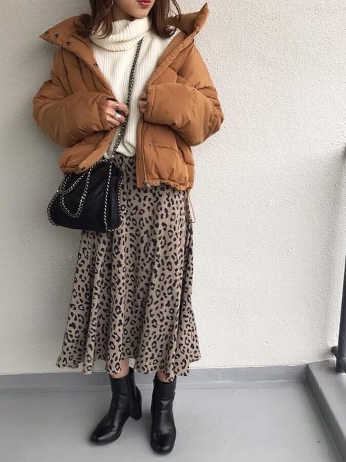 ダウンジャケットを使った横浜の服装