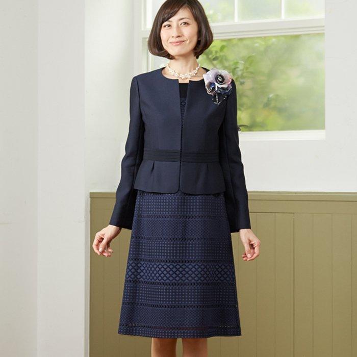 セレモニースーツを使った略式結納の服装