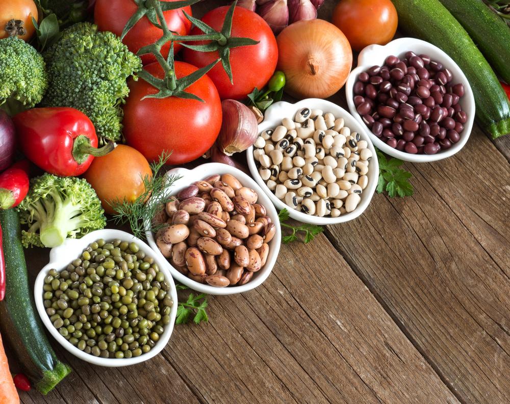 数種類の野菜