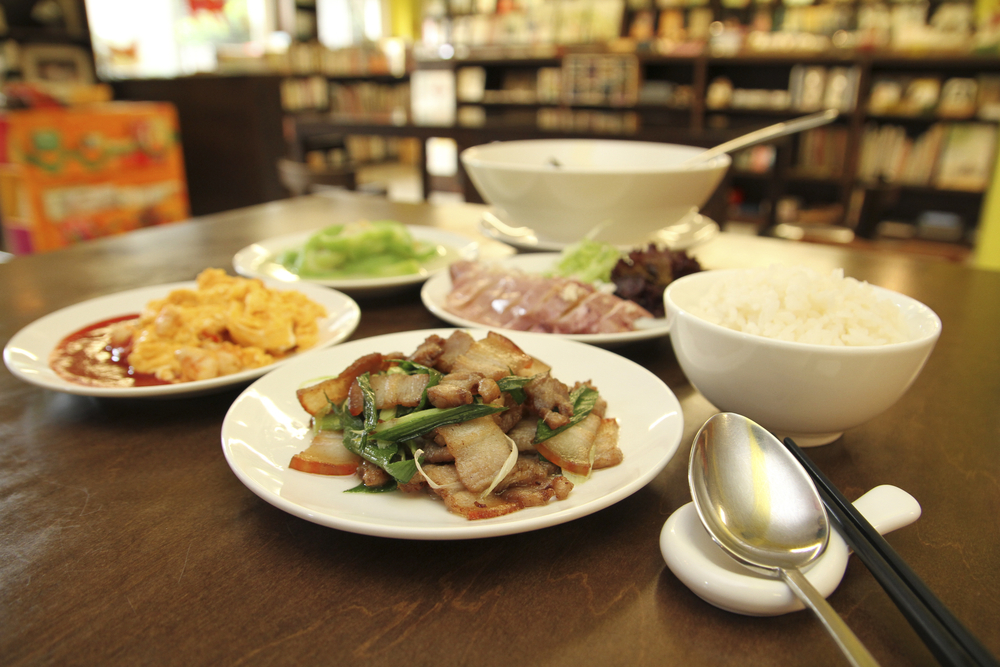 台湾の食事マナー