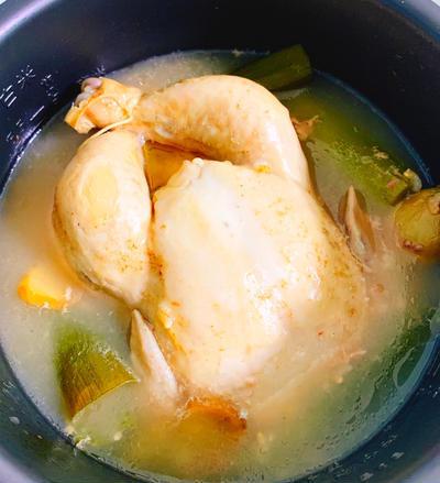 炊飯器で簡単!参鶏湯のレシピ