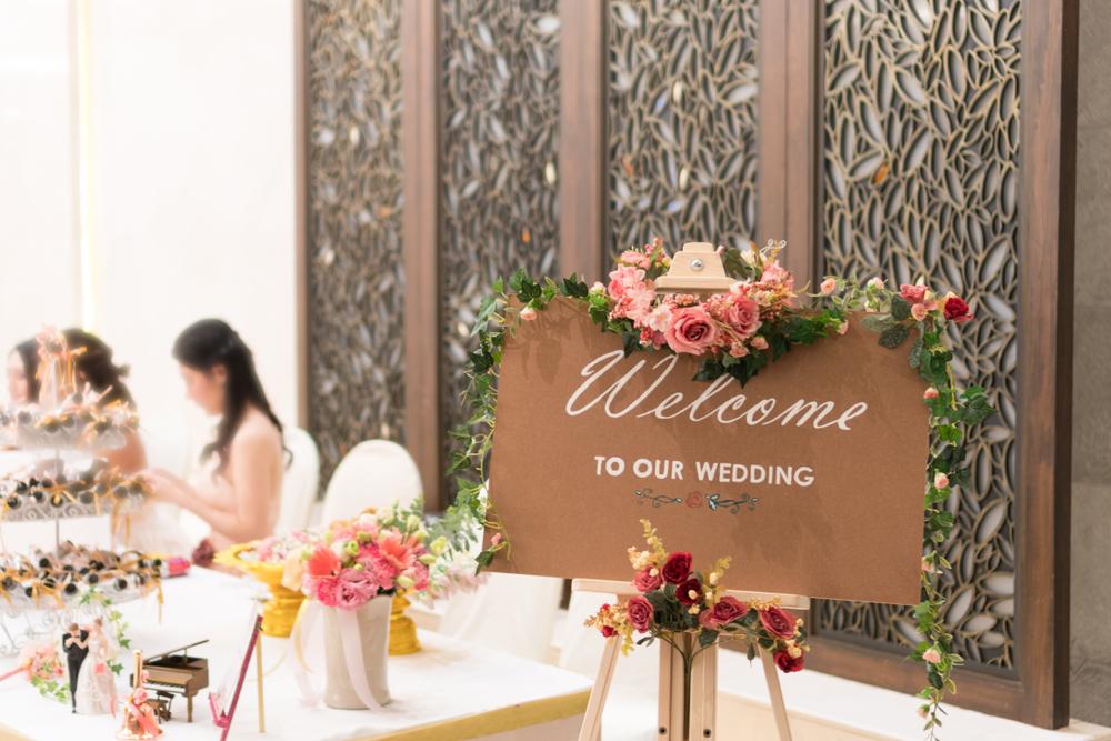 結婚式の受付のマナー
