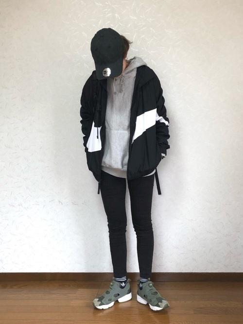 黒ソックスを使ったコーデ■パンツ■【1】