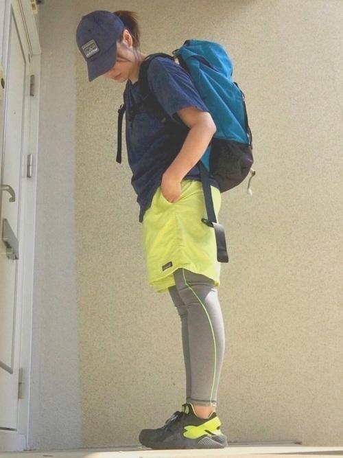 バッグアップを使ったボルダリングの服装